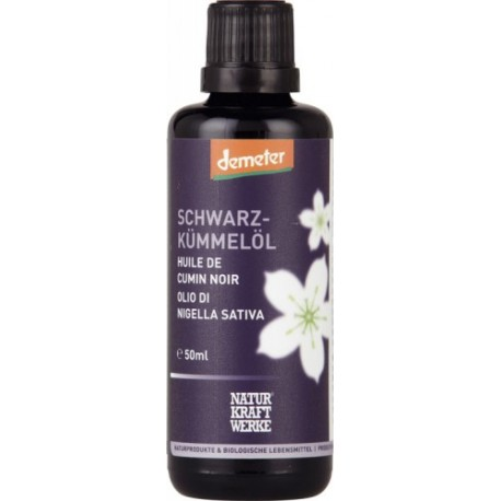 Schwarzkümmelöl Demeter - 50ml - Naturkraftwerke