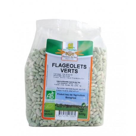 Grüne Flageolet-Bohnen Bio - 500g - Moulin des Moines