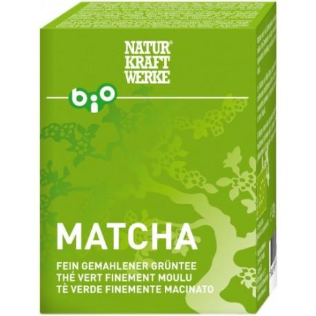 Matcha fein gemahlener Grüntee Bio - 30g - Naturkraftwerke
