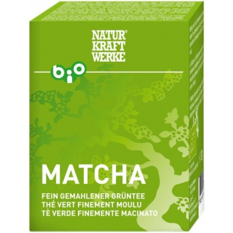 Matcha thé vert bio finement moulu - 30g - Naturkraftwerke