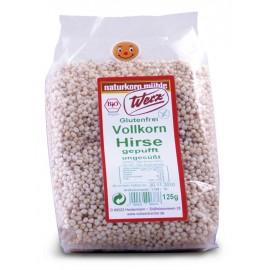 Hirse gepufft glutenfrei, bio - 125g - Werz