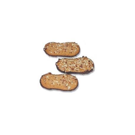 Buchweizen-Mandel-Zungen glutenfrei, bio - 150g - Werz