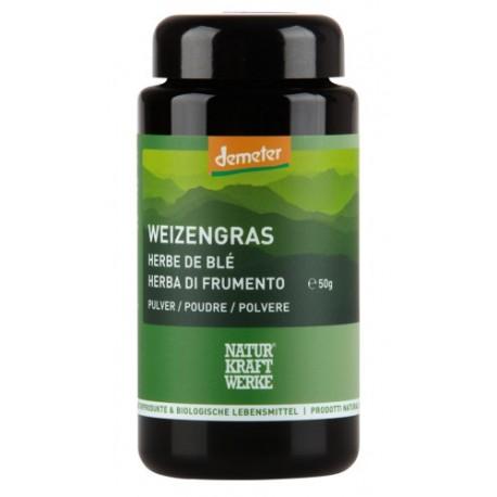 Weizengras Pulver, Demeter - 50g - Naturkraftwerke
