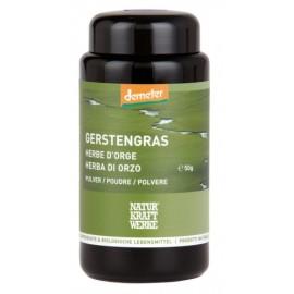 Herbe d'orge en poudre, Demeter - 50g - Naturkraftwerke