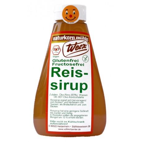 Bio Reissirup glutenfrei - 600ml - Werz