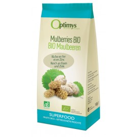 Mulberries Bio - 180g - Optimys