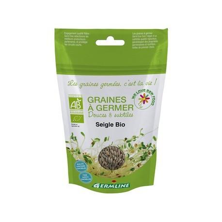 Seigle, Graines à germer, Bio - 200g - Germline