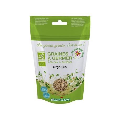 Orge Graines à germer Bio - 200g - Germline