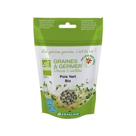 Pois vert Graines à germer Bio - 200g - Germline