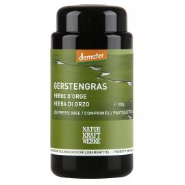 Gerstengras-Presslinge, Demeter - 250 Stk. à 400mg - Naturkraftwerke