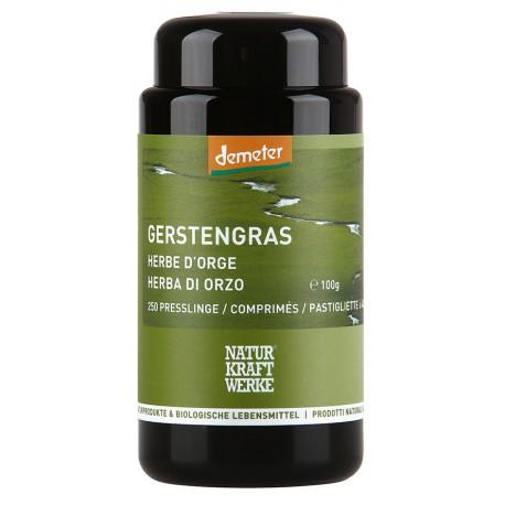 Herbes d'orge, Demeter - 250 comprimés à 400mg - Naturkraftwerke