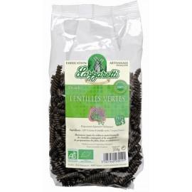 Bio Teigwaren Spiralen grüne Linsen - 250g - Lazzaretti