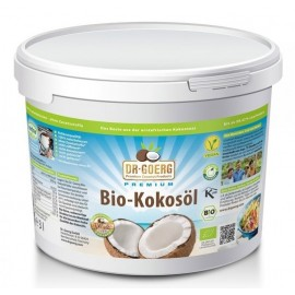 Huile de coco bio - 3000ml - Dr. Goerg