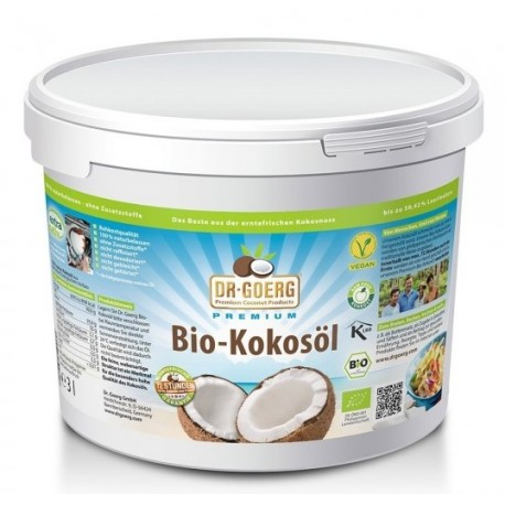 Bio Kokosöl roh - 3000ml - Dr. Goerg
