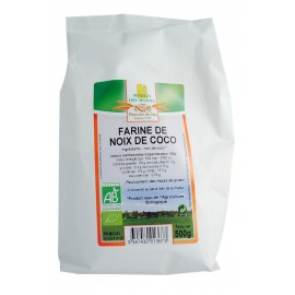 Farine de coco bio - 500g - Moulin des Moines