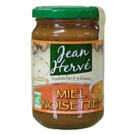 Bio Honig mit Haselnüssen - 360g - Jean Hervé