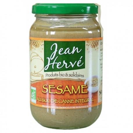 Confit de sésame bio au suc de canne - 360g - Jean Hervé