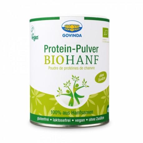 Poudre de proteine de chanvre, bio - 400g - Govinda