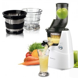 Kuvings Juicer B6000 weiss + Smoothie & Ice Cream Set