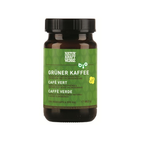 Café vert bio - 150 capsules - NaturKraftWerke