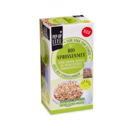 Graines à germer Bio Alfalfa, dans sachet-germoir - 80g - Pep Up Life
