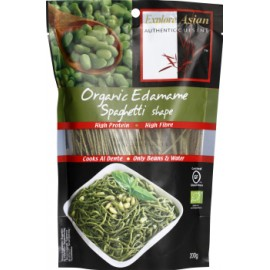 Spaghetti bio aux fèves edamane - 200g - Explore Asian